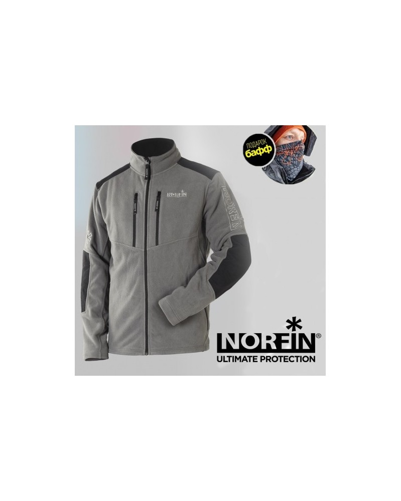 Флисовая куртка Norfin Glacier Gray