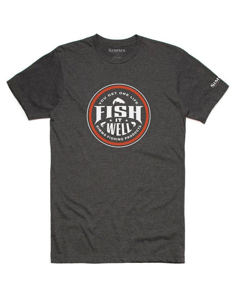 Футболка Simms Fish It Well T-Shirt