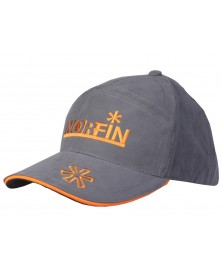 Бейсболка Norfin серая р.XL