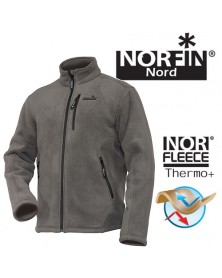 Флисовая куртка Norfin North Gray