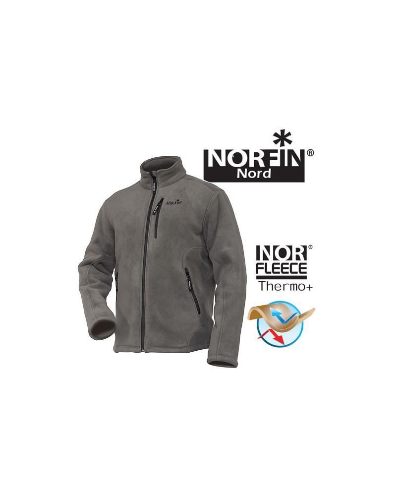 Флисовая куртка Norfin North Gray