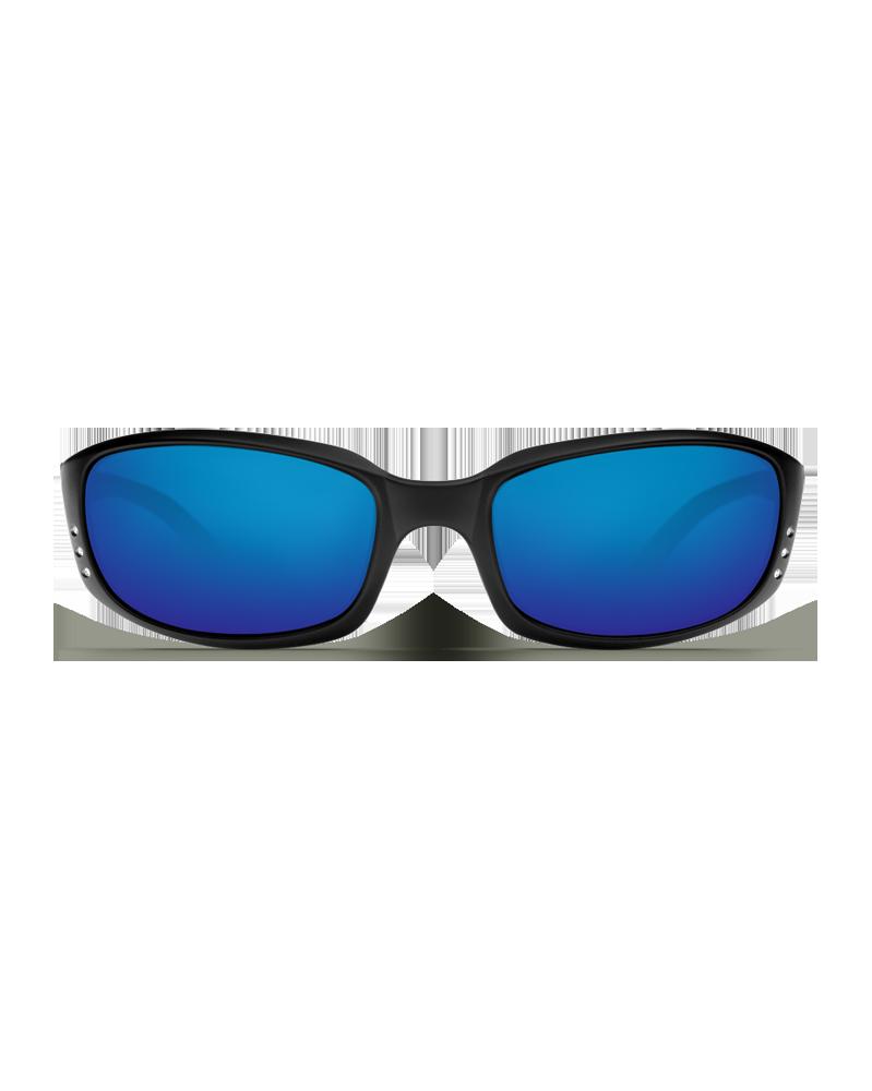 Очки поляризационные Costa Brine 400 GLS Blue Mirror Black